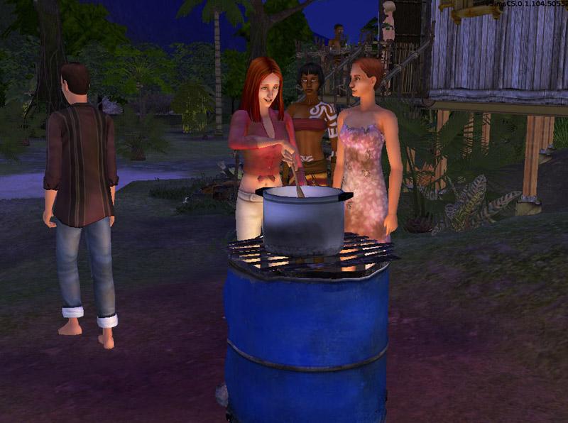Les Sims 2 : Histoires de Naufragés