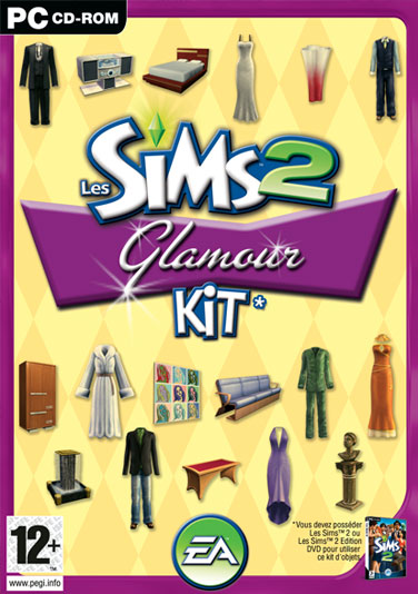 Boitier sims 2 glamour kit