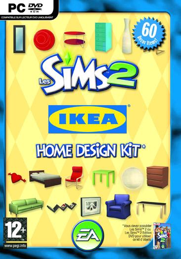 Boitier Les Sims 2 IKEA Home Design