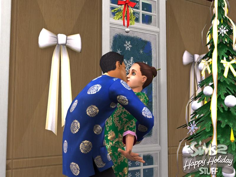Les Sims 2 : Joyeux Noël kit