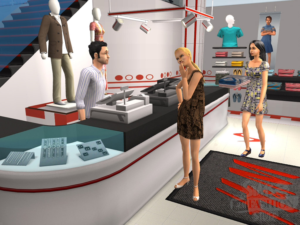 Les Sims 2 : H&M Fashion Kit