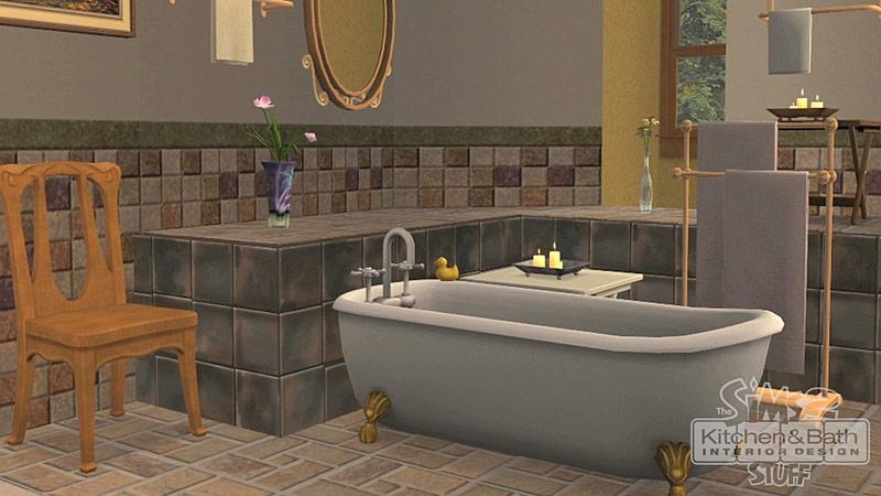 Les Sims 2 : Cuisine et Salle de bain Design Kit
