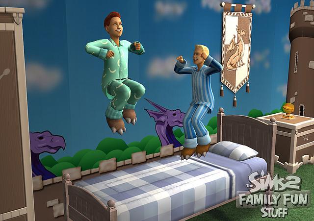 Les Sims 2 : Fun en Famille kit