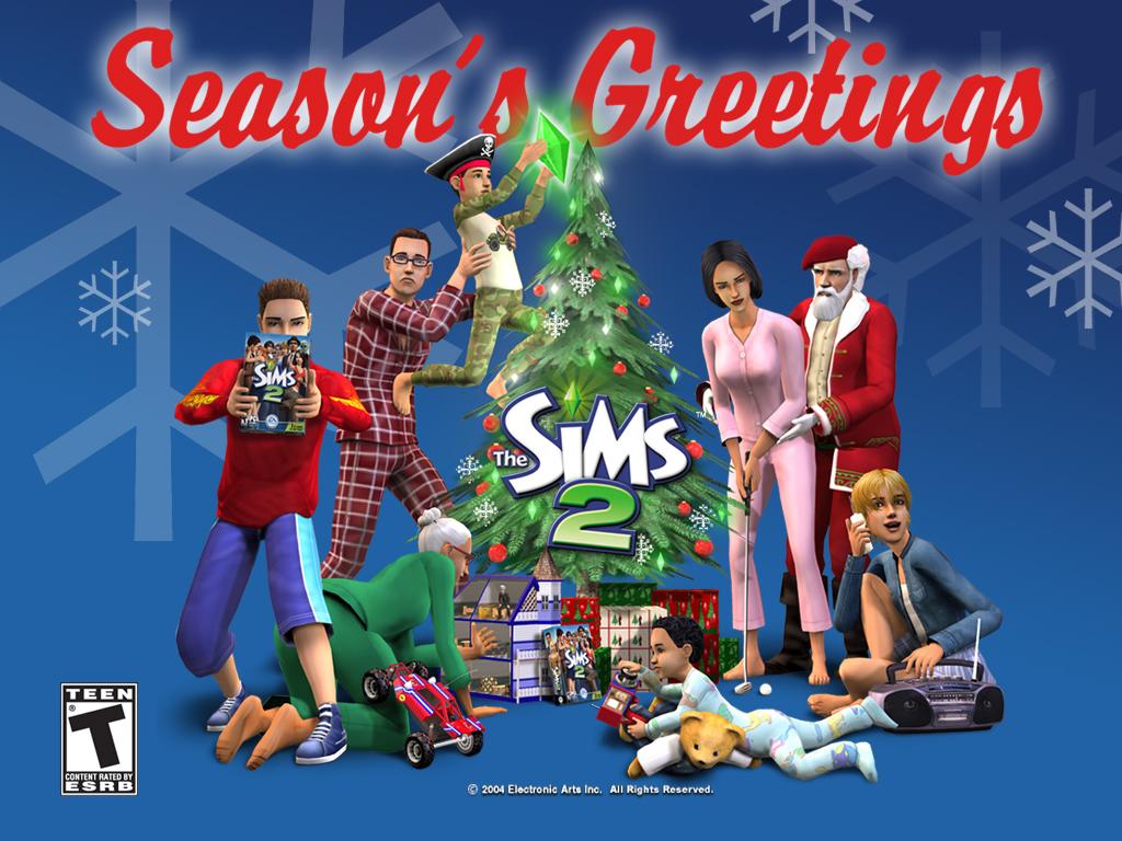 Les Sims 2 : Edition de Noël