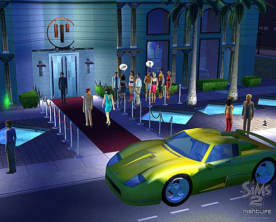 Les Sims 2 : Nuits de folie